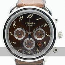 Hermès Arceau neu 2020 Automatik Uhr mit Original-Box und Original-Papieren AR4.910