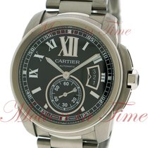 Cartier Calibre Automatic, Black Dial - Stainless Steel on...