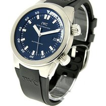 IWC 354807 Aquatimer Automatic in Steel - on Black Rubber...