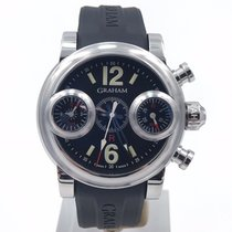 Graham Swordfish Chronograph Black Dial 46mm Complete Set Ref:...