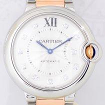 Cartier Ballon bleu 18K Gold/Stahl Diamond Dial 36mm Automatic...