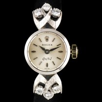 Rolex pre-owned 16mm White gold