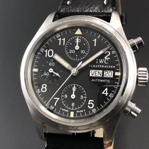 IWC - Der Flieger Chronograph Pilot Day-Date - Ref. 3706 - Men...