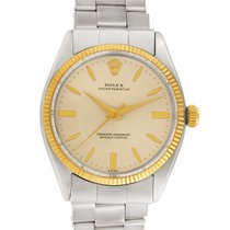 Rolex Oyster Perpetual 34 Steel 34mm Silver No numerals United States of America, Florida, Surfside