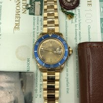 Rolex Submariner 16808 Full Tropical Dial Full Set Papers Box...