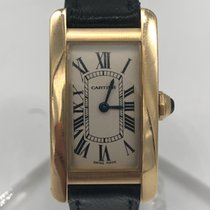 Cartier Tank Américaine occasion 19mm Or jaune