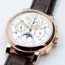 A. Lange & Söhne 1815 Rose gold 41.9mm Silver Arabic numerals United States of America, Texas, Houston