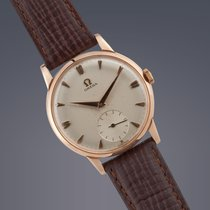 Omega De Ville Trésor pre-owned 34mm Date Leather