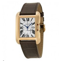 Cartier Tank Anglaise Rose gold 39mm Roman numerals