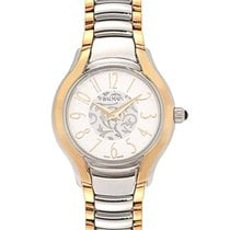 Balmain Stainless Steel With Gold Tone Quartz Ladies Watch...