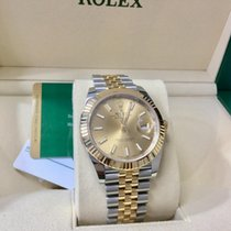 Rolex 126333 chij Datejust 41 Steel and Yellow Gold - Fluted...