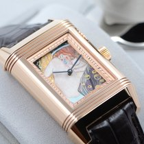 Jaeger-LeCoultre Rose gold Manual winding new Reverso (submodel)
