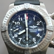 Breitling Titanium Automatic Black Arabic numerals 44mm pre-owned Super Avenger