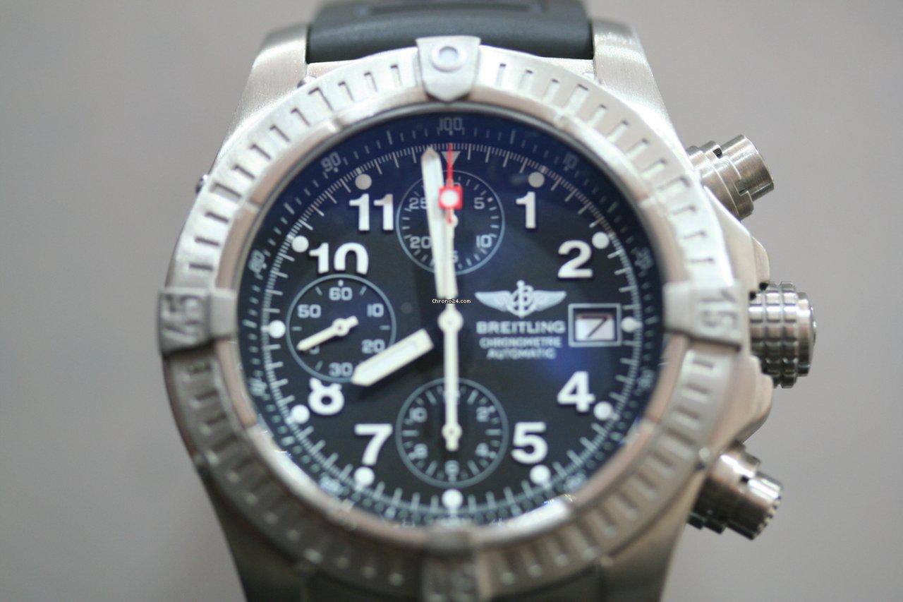 583dc2b67b8 Breitling Super Avenger - Todos os preços de relógios Breitling Super  Avenger na Chrono24