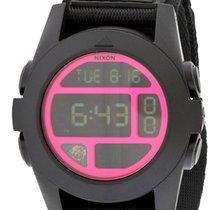 Nixon Baja Digital Black Polycarbonate Mens Watch