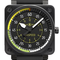 Bell & Ross BR 01-92 Acier 46mm Noir Arabes France, Paris
