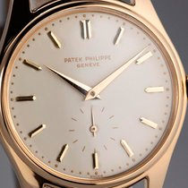 Patek Philippe Calatrava pre-owned 36mm Yellow gold