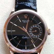 Rolex Cellini Date pre-owned 39mm Rose gold