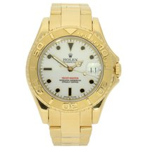 Rolex Yacht-Master Yellow gold 35mm White No numerals United Kingdom, Liverpool