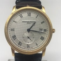 Frederique Constant Yellow gold Quartz 39mm pre-owned