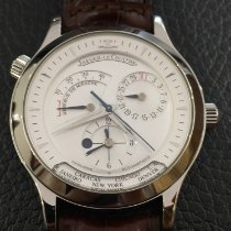 Jaeger-LeCoultre Master Geographic Steel 38mm Silver No numerals