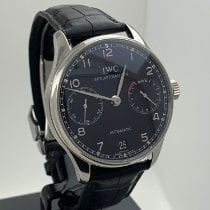 IWC Portuguese Automatic Steel 42mm Black Arabic numerals