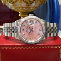 Rolex Datejust Steel 36mm Pink United States of America, California, West Hollywood