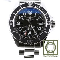 Breitling Superocean II 42 Steel 42mm Black Arabic numerals