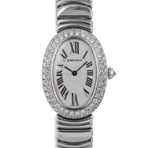 Cartier Baignoire White gold 22mm Silver Roman numerals United States of America, Maryland, Baltimore, MD