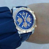 Breitling Chronomat 44 CB0110121C1P1 Ubrukt Gull/Stål 44mm Automatisk Norge