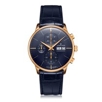 Junghans Meister Chronoscope Steel 40.7mm Blue United States of America, New Jersey, Cherry Hill