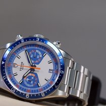 Tudor Heritage Chrono Blue Steel 42mm White