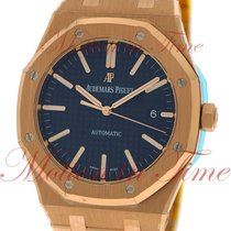 Audemars Piguet 15400OR.OO.1220OR.03 Rose gold Royal Oak Selfwinding 41mm pre-owned United States of America, New York, New York