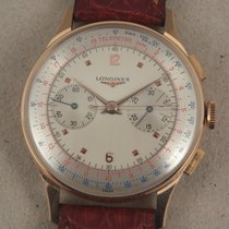 Longines Antique 18k gold - Chronograph
