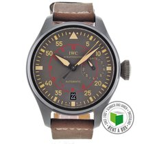 IWC Big Pilot Top Gun Miramar Keramiek 48.5mm Bruin Arabisch