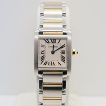 Cartier Tank Francaise Lady Steel Gold