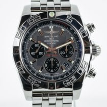 Breitling Chronomat 44, AB0110, Auto, Stainless Steel, Box and...
