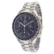 Omega Speedmaster S.S. Black Dial Automatic Chronograph Men's...