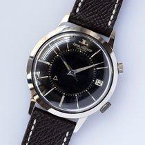 Jaeger-LeCoultre Very Rare Jumbo Memovox Orig. Black Dial / 37...