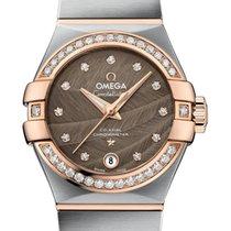 Omega Constellation Ladies Gold/Steel 27mm Brown United Kingdom, London