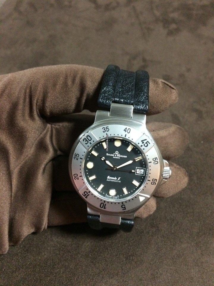 6e0ab0734f7 Comprar relógios Baume   Mercier Aço