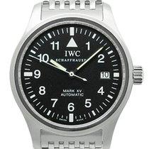 IWCパイロット ウォッチ・中古・化粧箱付属、書類なし・38 mm・スチール