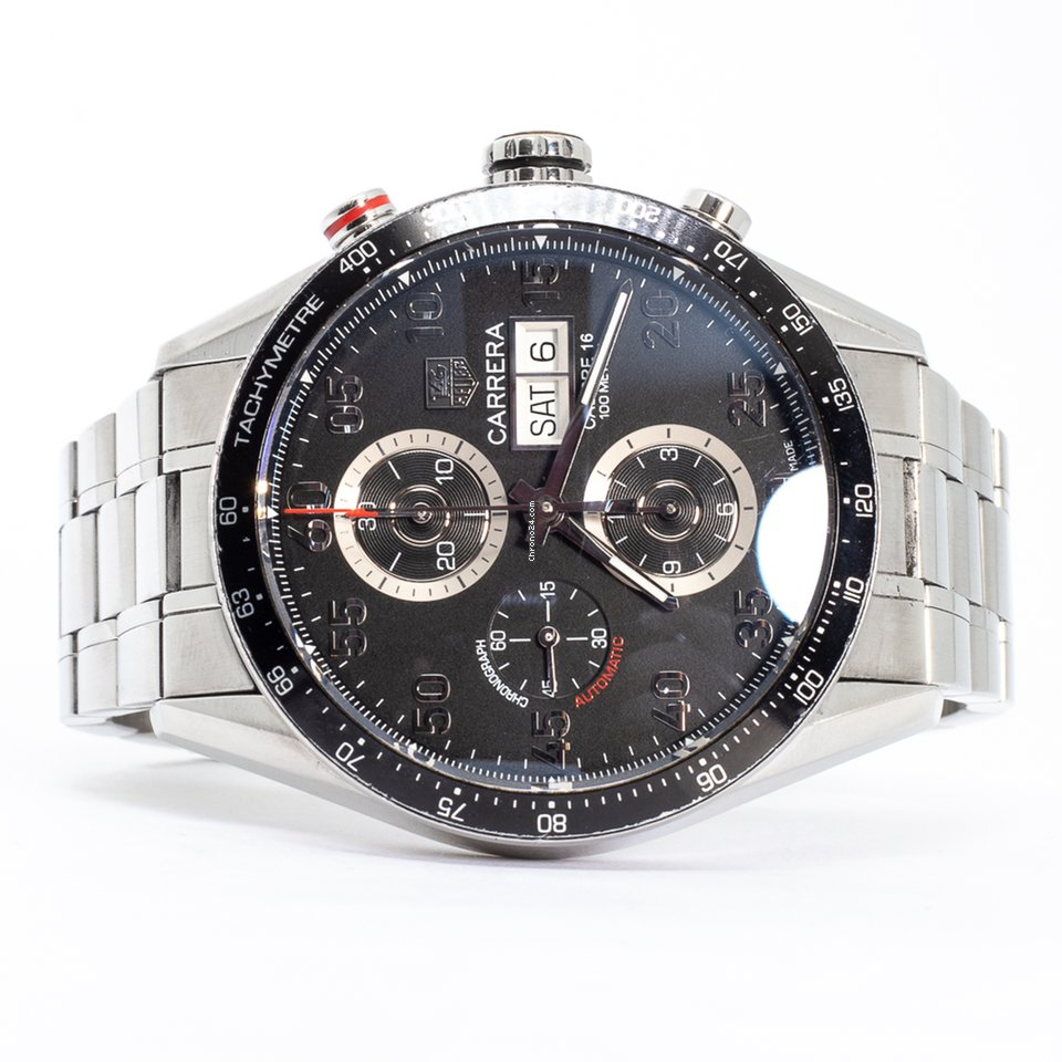 440deae9f88 TAG Heuer Carrera Calibre 16 - Todos os preços de relógios TAG Heuer  Carrera Calibre 16 na Chrono24