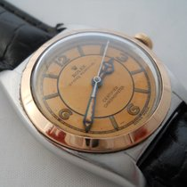 Rolex Oyster Perpetual Bubble Back Steel/rose Gold Vintage