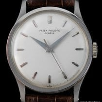 Patek Philippe Calatrava White gold Silver United States of America, New York, New York
