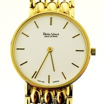 Philip Watch Yellow gold 30,6mm Quartz 8053552100 new