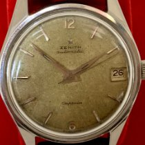 Zenith Captain pre-owned Date Leather