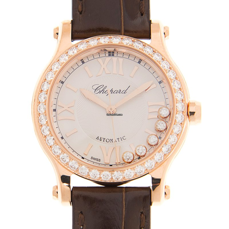 803c8add1 Chopard Happy Sport Rose gold - all prices for Chopard Happy Sport Rose  gold watches on Chrono24