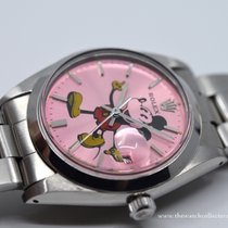Rolex Steel 34mm Manual winding 6426 Pink