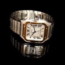 Cartier Santos (submodel) Steel 39.8mm Red United States of America, California, San Mateo